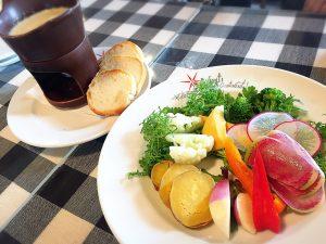 藤沢野菜のバーニャカウダー