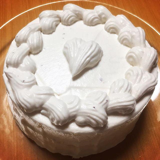 フランス産のジャムFruidorを使って作ったケーキ♪なんも入ってないけどジャムが美味しいからペロッとイケちゃう♪1日遅れのクリスマスケーキ#1日遅れのクリスマスケーキ #実穂つなこ #手作り #美味しい #不恰好だけど
