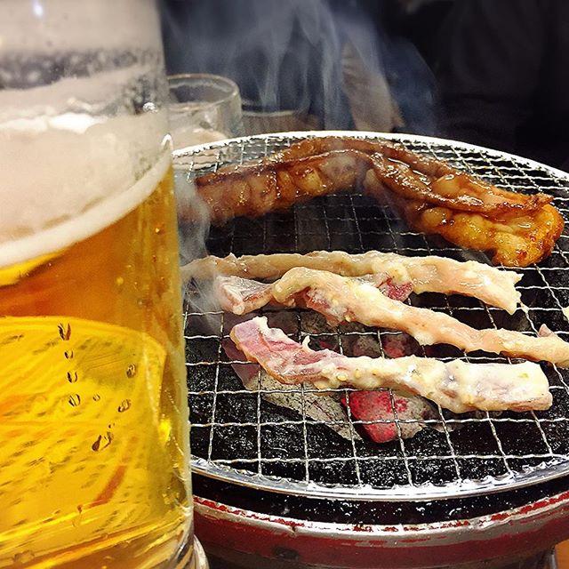焼肉&ビール